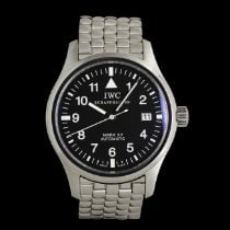 IWC Pilot Mark Acero 38mm Negro