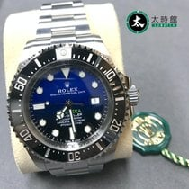 劳力士 Sea-Dweller Deepsea 钢 44mm 蓝色 无数字