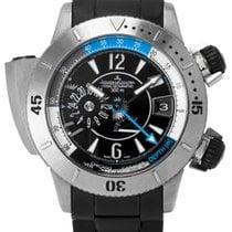 Jaeger-LeCoultre Master Compressor Diving Pro Geographic Titanium 46mm Black Arabic numerals