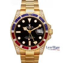 Rolex 116758SARU Yellow gold 2010 GMT-Master II 40mm pre-owned