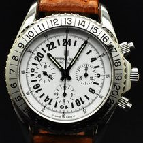 Universal Genève Compax new 1999 Manual winding Watch with original box and original papers universal geneve