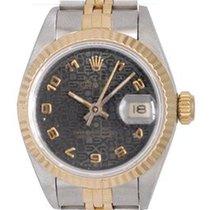 Rolex Lady-Datejust 26mm Чёрный Aрабские