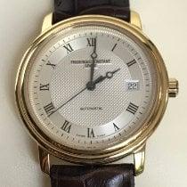 Frederique Constant Classics Automatic Gold/Steel 38mm Silver Roman numerals