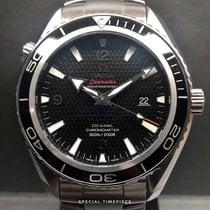 Omega Seamaster Planet Ocean Staal 45mm Zwart Arabisch