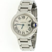 Cartier Ballon Bleu 28mm Steel 28mm Silver Roman numerals United States of America, New York, New York