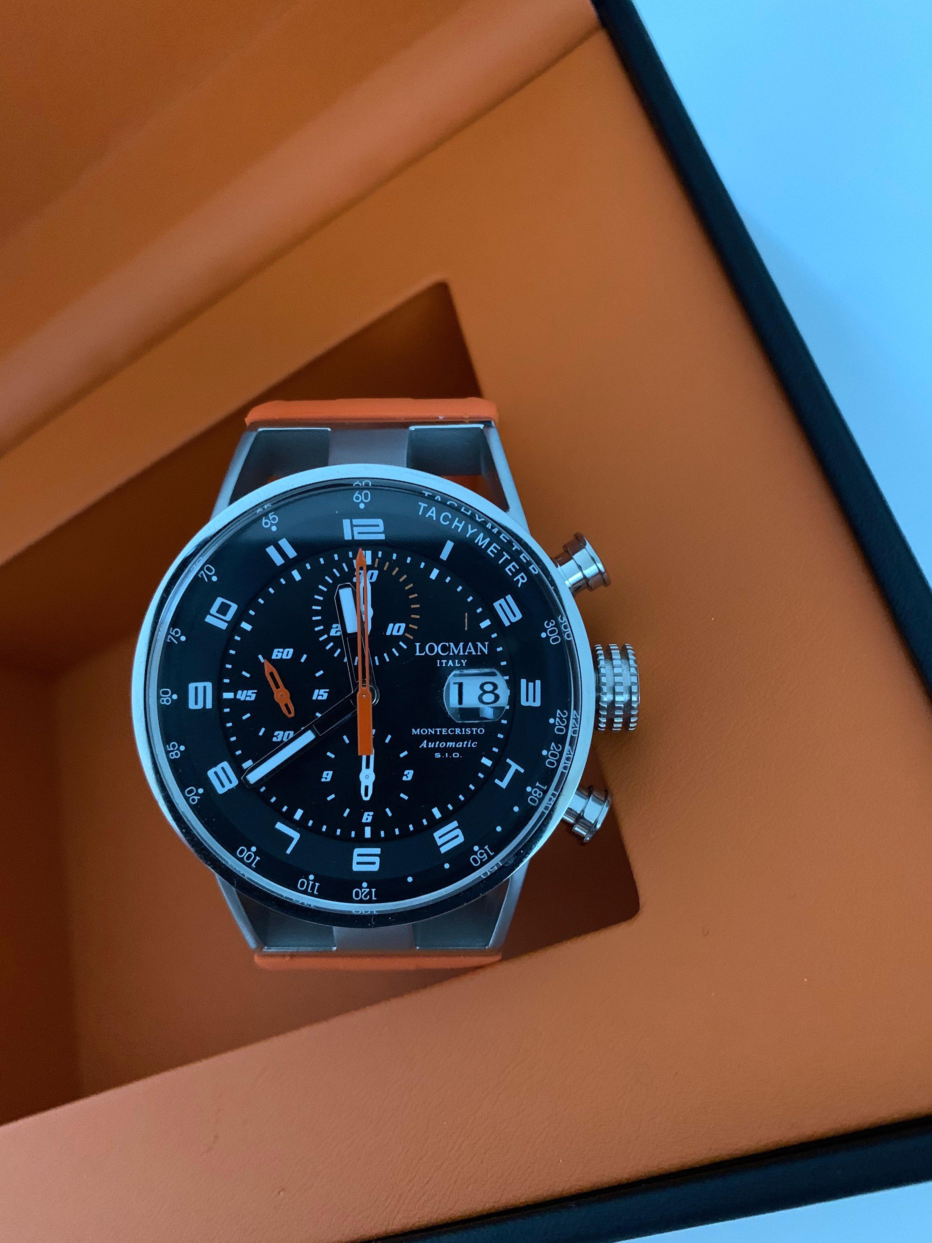 Locman Montecristo cronografo automatico data à vendre pour