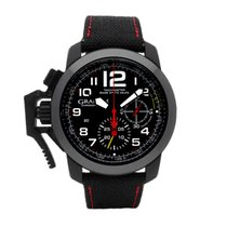 Graham Chronofighter Oversize 2CCBK.B07A.T19N Muy bueno Carbono Automático