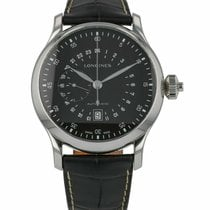 Longines Twenty-Four Hours Steel 47.5mm Arabic numerals United States of America, Florida, Sarasota