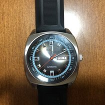 Seiko Prospex Steel 42mm Black No numerals