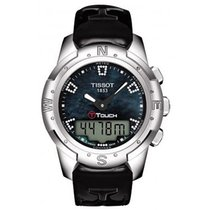 Tissot T-Touch II Titanium 43.3mm Mother of pearl United States of America, Indiana, INDIANAPOLIS