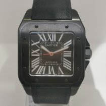 Cartier Carbon Automatik 41mm gebraucht Santos 100