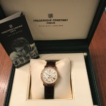 Frederique Constant Classics Business Timer Or jaune 40mm Or Romains