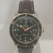 Omega Seamaster 300 Gold/Steel 41mm Black Arabic numerals United Kingdom, Wimborne