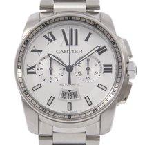 Cartier Calibre de Cartier Chronograph 42mm Silber