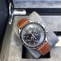 Omega 311.32.40.30.01.001 Staal 2021 Speedmaster Professional Moonwatch 39.7mm nieuw