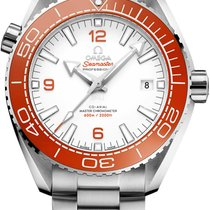 Omega Seamaster Planet Ocean Steel 43.5mm White Arabic numerals United States of America, Iowa, Des Moines