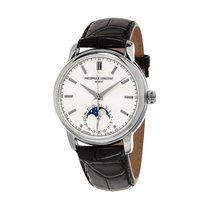 Frederique Constant Manufacture Classic Moonphase Steel 40.5mm Silver United States of America, New Jersey, Lakewood