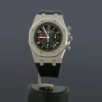 Audemars Piguet Acero Automático Negro Arábigos 39mm nuevo Royal Oak Chronograph