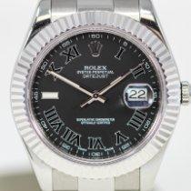 Rolex Datejust II Acier 41mm Gris Romains