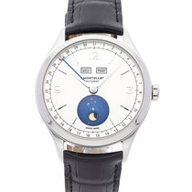Montblanc Heritage Chronométrie Steel 40mm Silver Arabic numerals United States of America, New Jersey, Lakewood