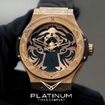 Hublot Red gold Automatic pre-owned Big Bang
