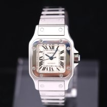 Cartier Santos Galbée Stahl 24mm Silber Römisch Deutschland, Rosenheim