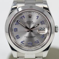 Rolex Datejust II Steel 41mm Grey Arabic numerals United States of America, Florida, Miami Beach