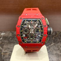 Richard Mille RM 011 Carbon 49.94mm Transparent Arabic numerals