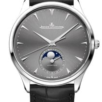 Jaeger-LeCoultre Master Ultra Thin Moon White gold 39mm Grey