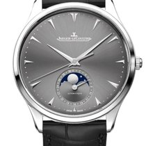 Jaeger-LeCoultre Master Ultra Thin Moon Or blanc 39mm Gris