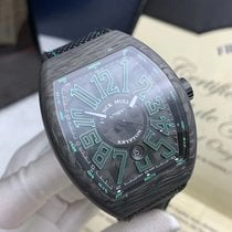 Franck Muller Vanguard V45 SC DT KRYPTON CARBON New Carbon 44mm Automatic
