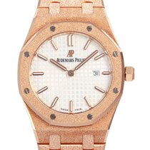 Audemars Piguet Royal Oak Lady Oro rosa 33mm Plata