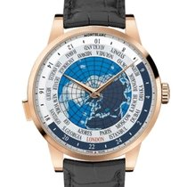 Montblanc Red gold Automatic Blue 41mm new Heritage Spirit