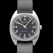 Hamilton Khaki Pilot Pioneer Steel 36mm Black United States of America, California, Burlingame