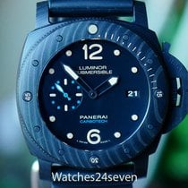 Panerai 47mm pre-owned Luminor Submersible 1950 3 Days Automatic