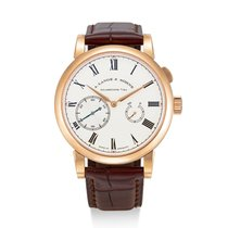 A. Lange & Söhne Richard Lange Rose gold Silver United States of America, New York, New York