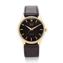 Rolex Oyster Precision Rose gold Black United States of America, New York, New York
