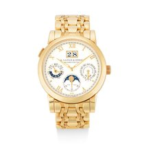 A. Lange & Söhne Langematik Perpetual Yellow gold Silver United States of America, New York, New York