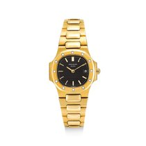 Patek Philippe Yellow gold Black Nautilus