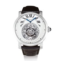 Cartier Rotonde de Cartier Platin Silber