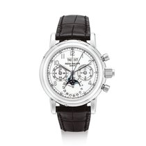 Patek Philippe Platine Chronographe Argent Perpetual Calendar Chronograph