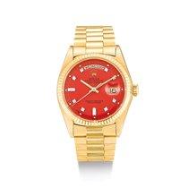Rolex Day-Date 36 Oro amarillo Rojo