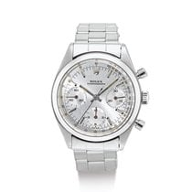 Rolex Chronograph Acero Plata