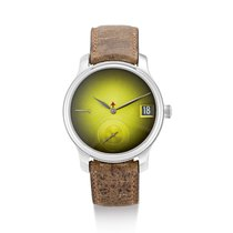 H.Moser & Cie. Endeavour Steel Green