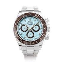 Rolex Platine Chronographe Bleu Daytona