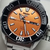 Seiko 5 Sports Steel 44mm Orange United States of America, California, El Monte