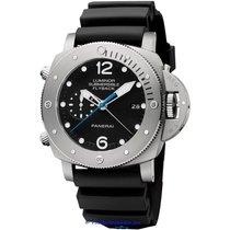 Panerai Luminor Submersible 1950 3 Days Automatic Titanium 47mm Black Arabic numerals United States of America, California, Newport Beach