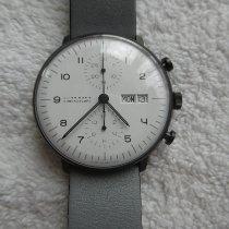 Junghans max bill Chronoscope neu 2020 Automatik Chronograph Uhr mit Original-Box und Original-Papieren 027/4008.04