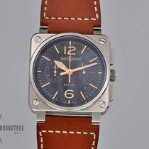 Bell & Ross BR 03-94 Chronographe Otel 42mm Negru