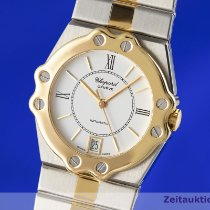 Chopard St. Moritz Goud/Staal 31.5mm Wit